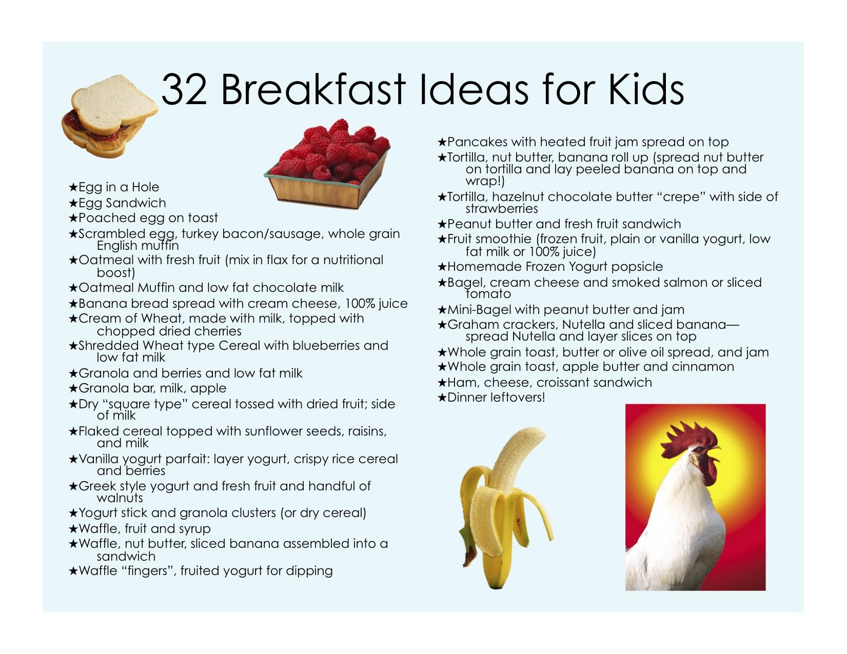 Healthy Breakfast Ideas For Kids  Top Healthy Breakfast Ideas for Weight Loss to Start Your