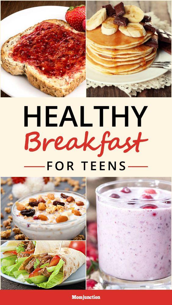Healthy Breakfast Ideas For Teens  396 best Teen Topics images on Pinterest
