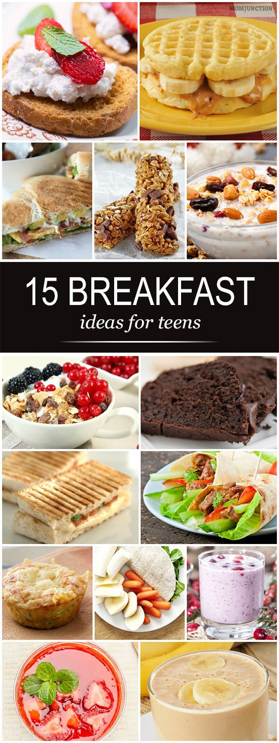 Healthy Breakfast Ideas For Teens  Top 25 Easy And Healthy Breakfast For Teens