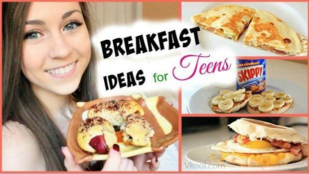 Healthy Breakfast Ideas For Teens  Top 35 yummy breakfast recipes for teens