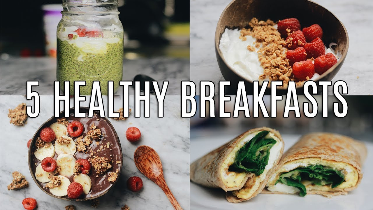 Healthy Breakfast Ideas For Work  5 Quick Healthy Breakfast Ideas for Work & School