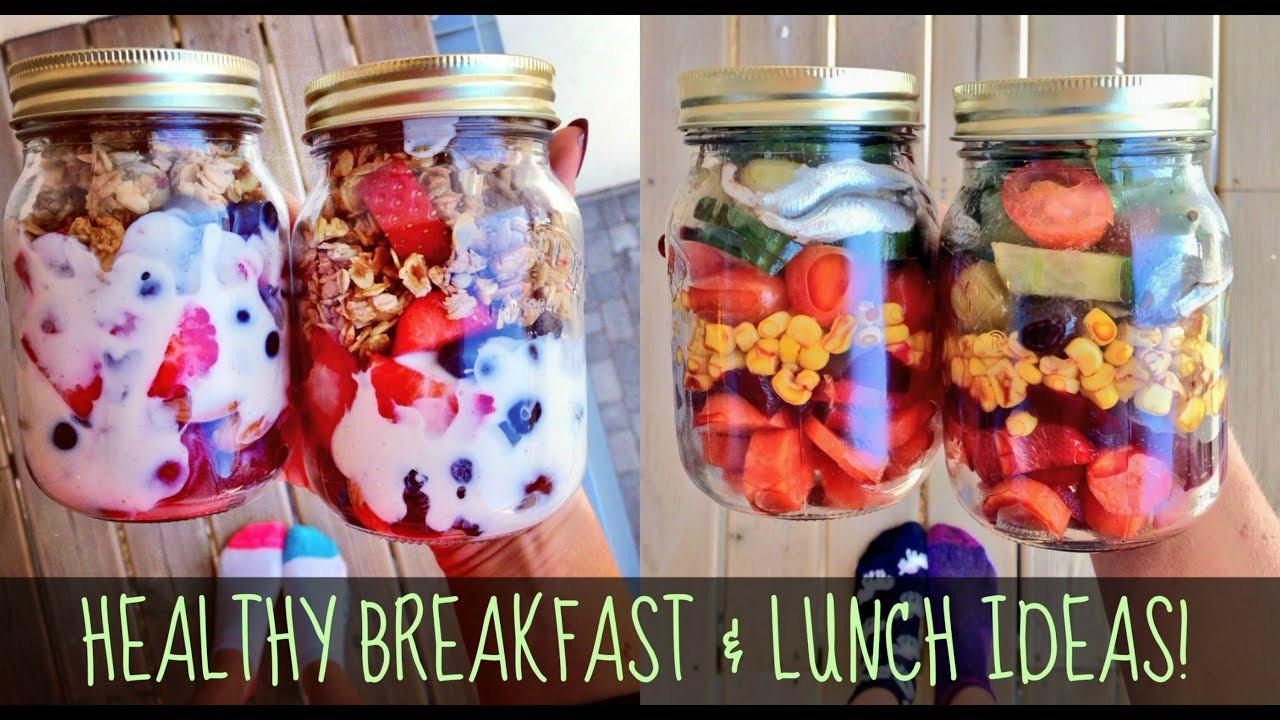 Healthy Breakfast Ideas For Work  HEALTHY BREAKFAST AND LUNCH IDEAS FOR SCHOOL & WORK