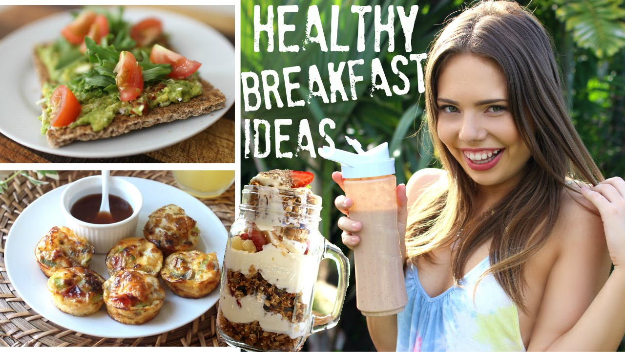 Healthy Breakfast Ideas For Work  Quick & Easy HEALTHY Breakfast Foods for the Go