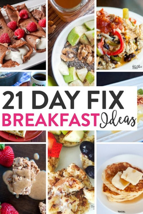 Healthy Breakfast Ideas For Work  21 Day Fix Breakfast Ideas