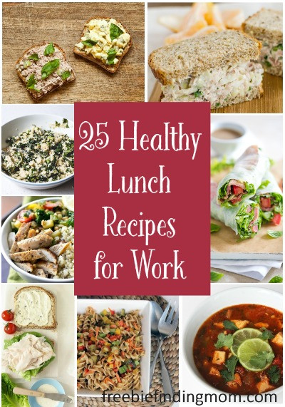 Healthy Breakfast Ideas For Work  25 Healthy Lunch Recipes for Work