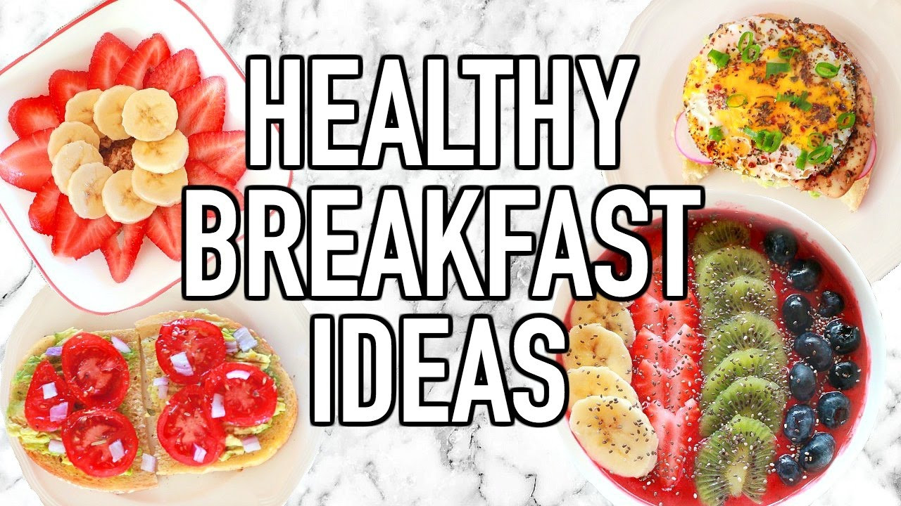 Healthy Breakfast Ideas For Work  5 QUICK & EASY HEALTHY BREAKFAST IDEAS FOR SCHOOL WORK