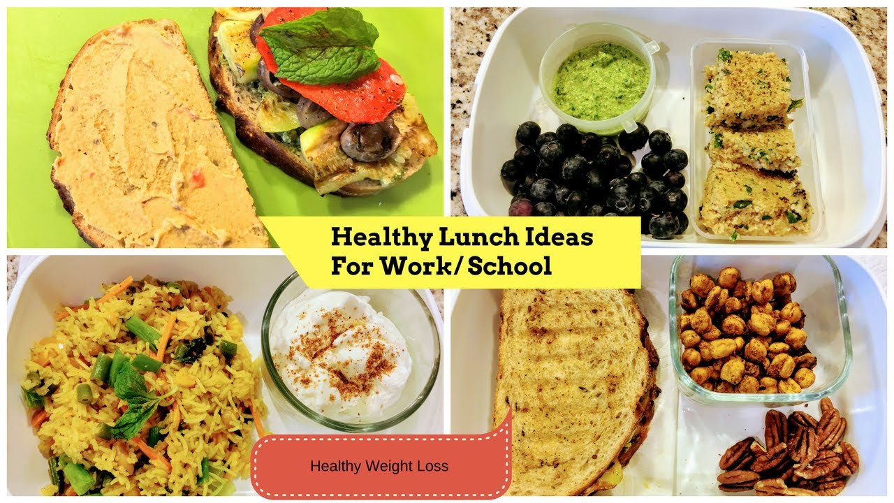 Healthy Breakfast Indian Recipes For Weight Loss  4 Healthy Indian Lunch Breakfast Ideas for School Work