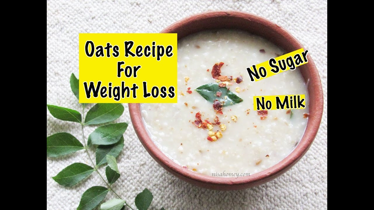 Healthy Breakfast Indian Recipes For Weight Loss  Oats Recipe For Weight Loss Diabetic Friendly Healthy