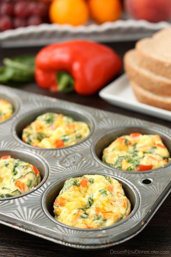 Healthy Breakfast Kids  Breakfast Egg Cups Recipe