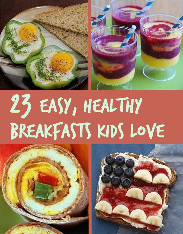 Healthy Breakfast Kids  23 Healthy And Easy Breakfasts Your Kids Will Love