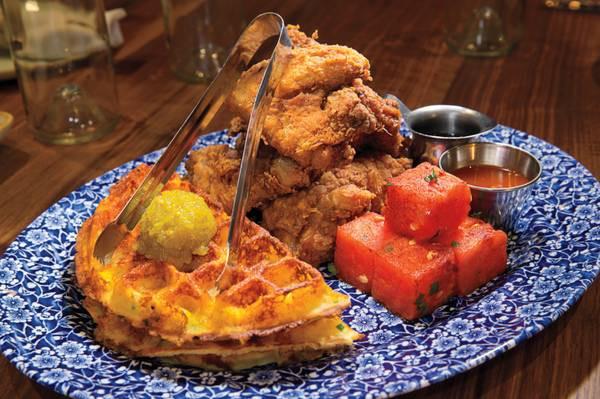 Healthy Breakfast Las Vegas  The South rises again at the Venetian's tasty Yardbird