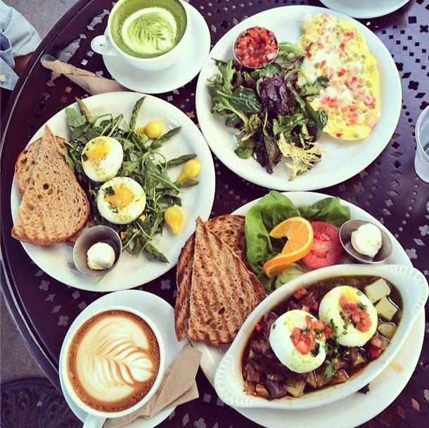 Healthy Breakfast Los Angeles  Breakfast at Urth Cafe Food Picks