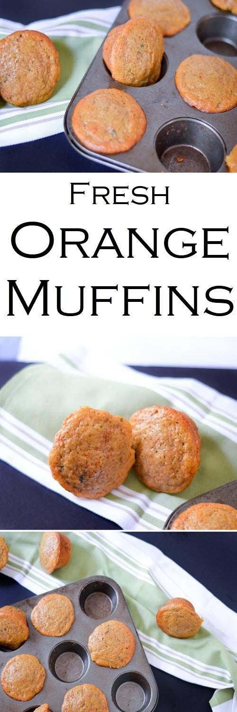 Healthy Breakfast Los Angeles  Orange Carrot Healthy Breakfast Muffins
