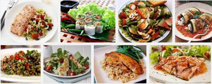 Healthy Breakfast Lunch And Dinner  The Most Healthy Diet Recipes