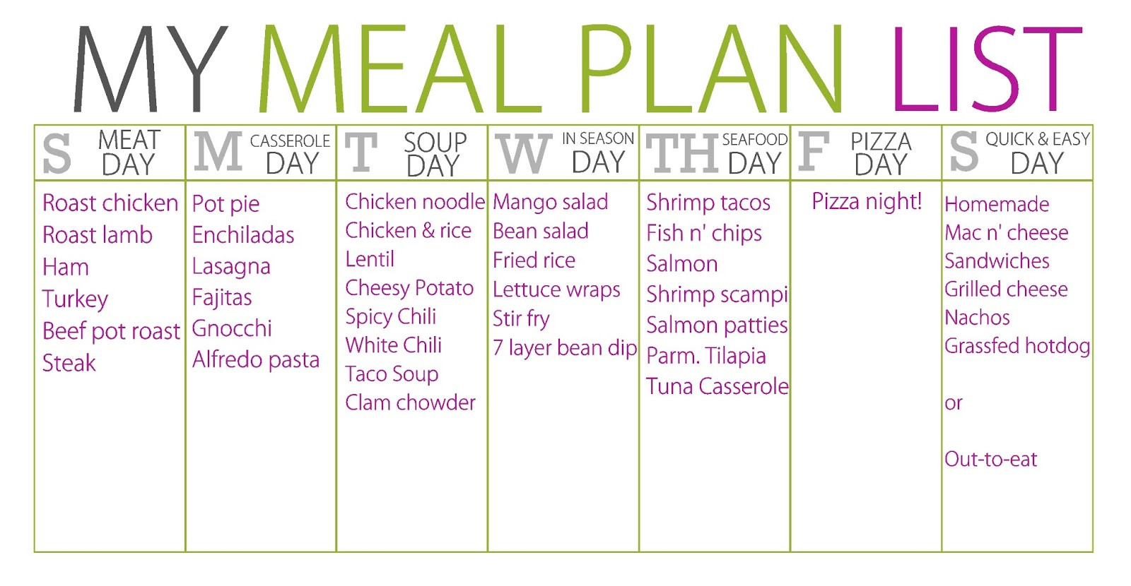 Healthy Breakfast Lunch And Dinner Chart  Balanced Diet Plan A Balanced Diet For Breakfast Lunch Dinner