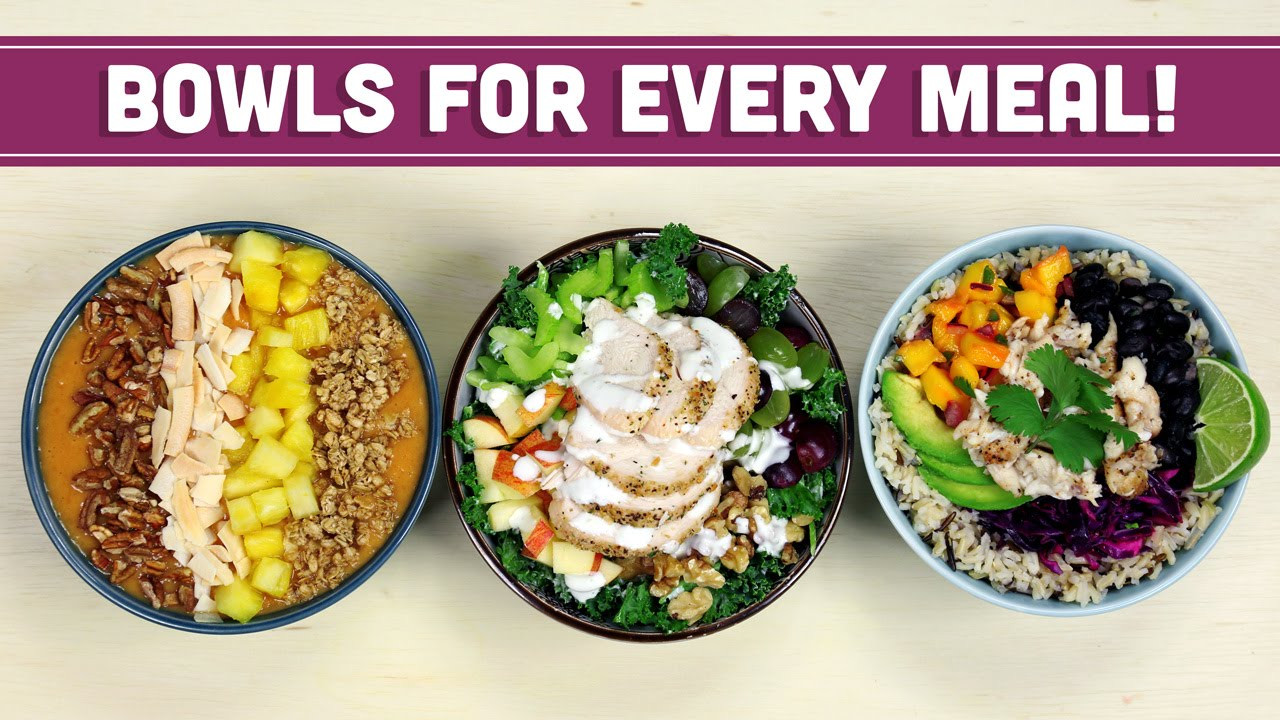 Healthy Breakfast Lunch And Dinner  Healthy Breakfast Lunch & Dinner Bowls with The Domestic