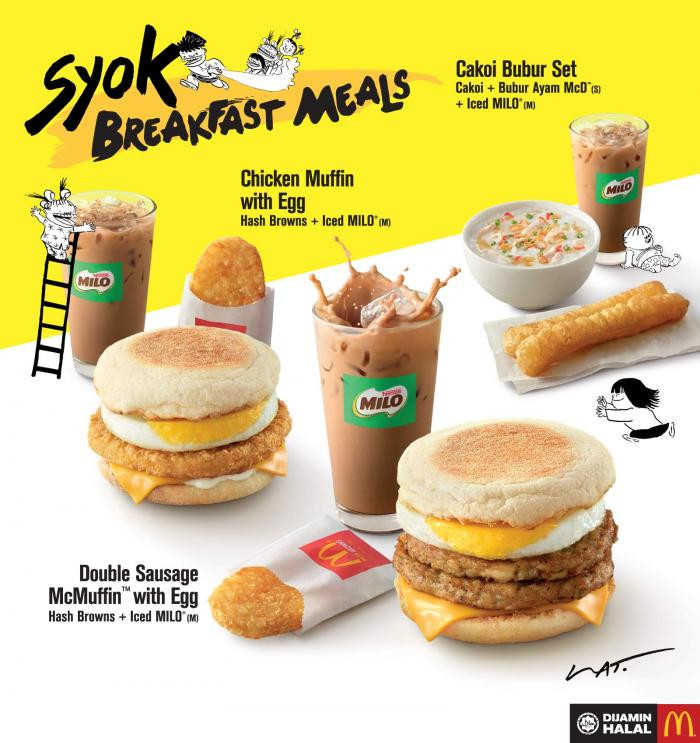 Healthy Breakfast Mcdonalds  McDonald s Syok Breakfast Meal