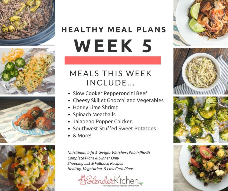 Healthy Breakfast Meal Plan  Healthy Meal Plans Week 5 Creating a Breakfast Routine