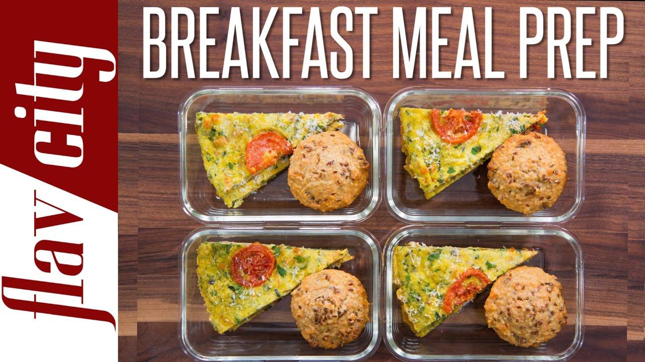 Healthy Breakfast Meal Prep  Healthy Breakfast Meal Prep – Weekly Meal Prep