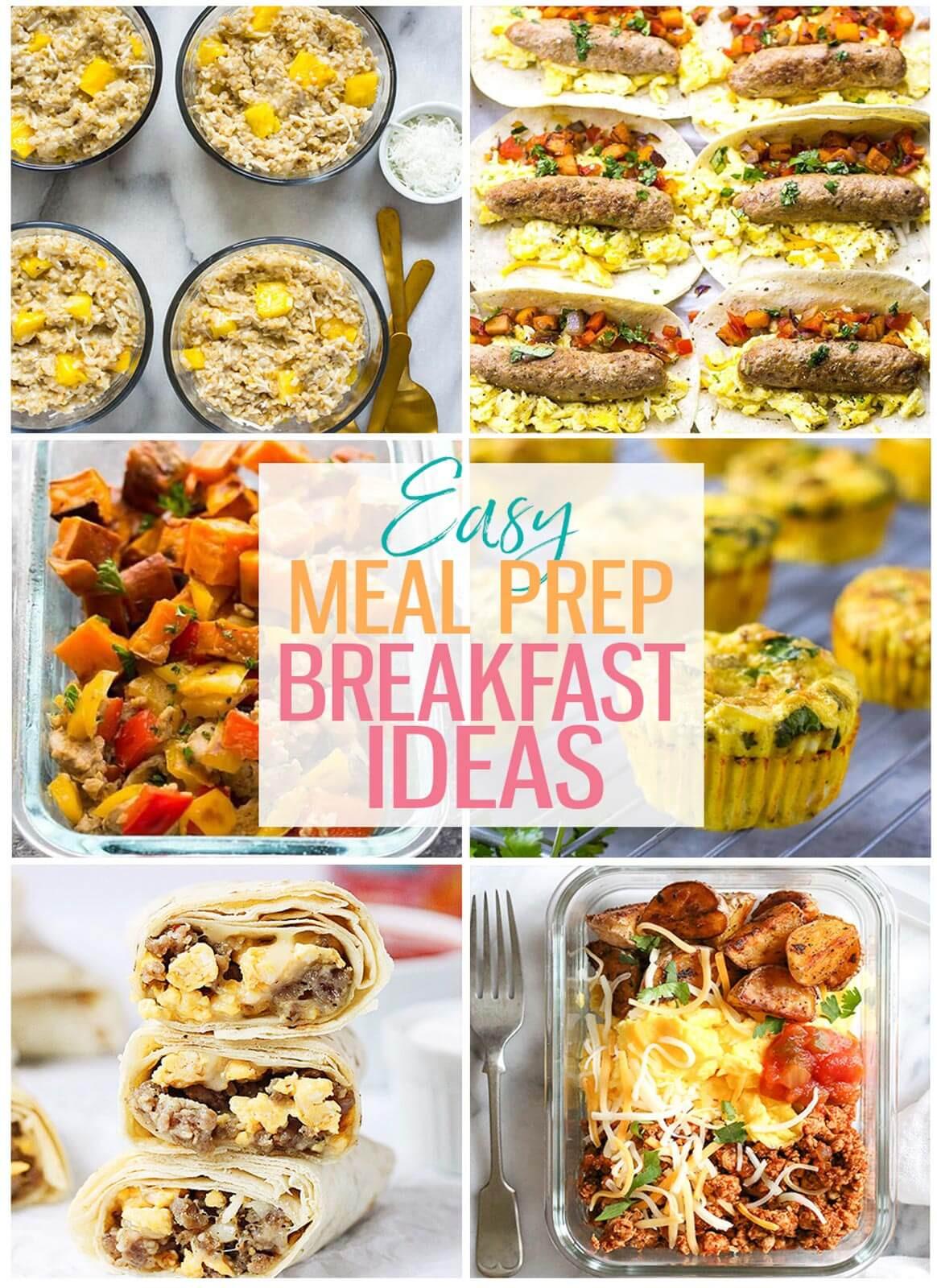 Healthy Breakfast Meal Prep Ideas  15 Breakfast Meal Prep Ideas for Busy Mornings The Girl