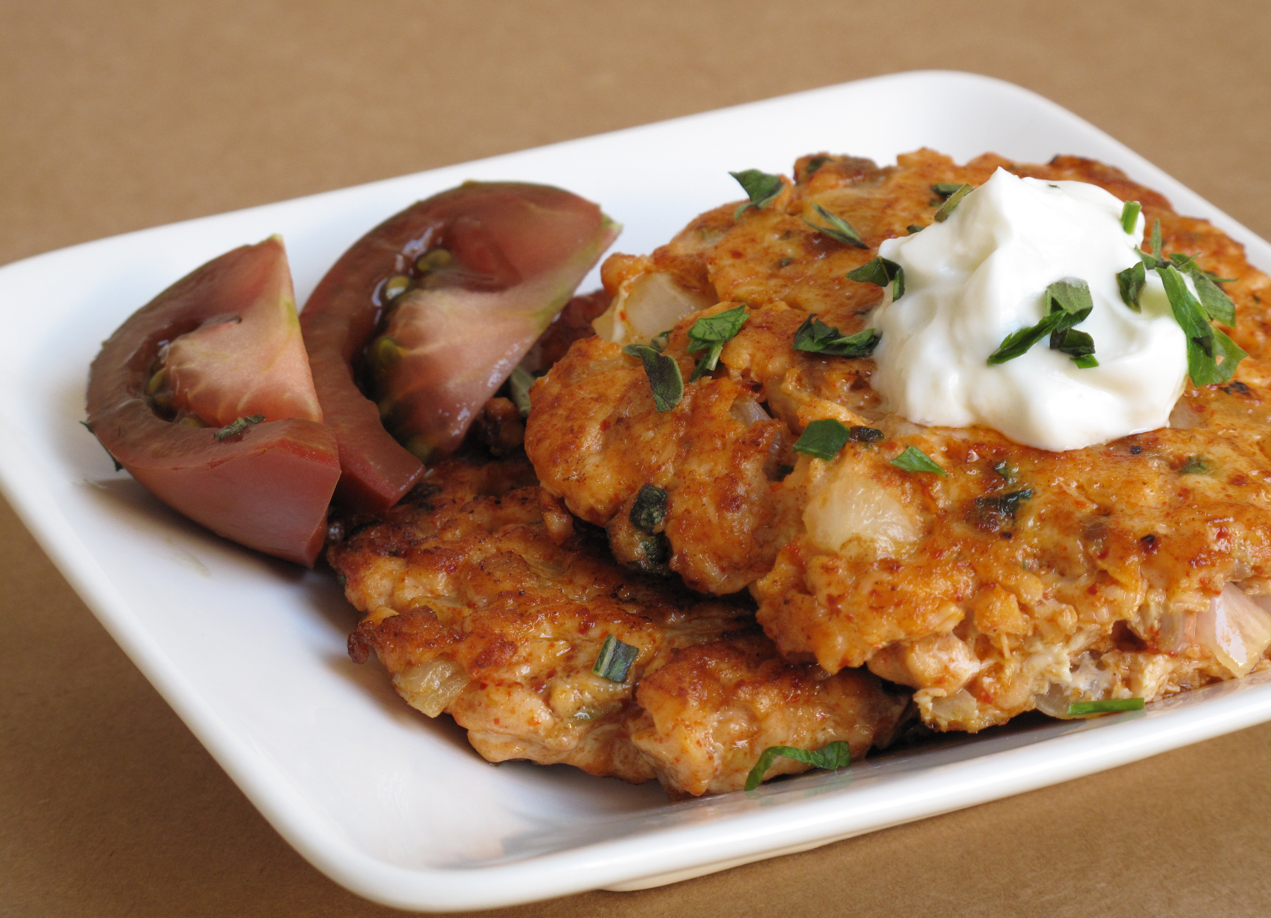 Healthy Breakfast Meat  Healthy Spa Recipe For Breakfast Salmon Sausage Patties