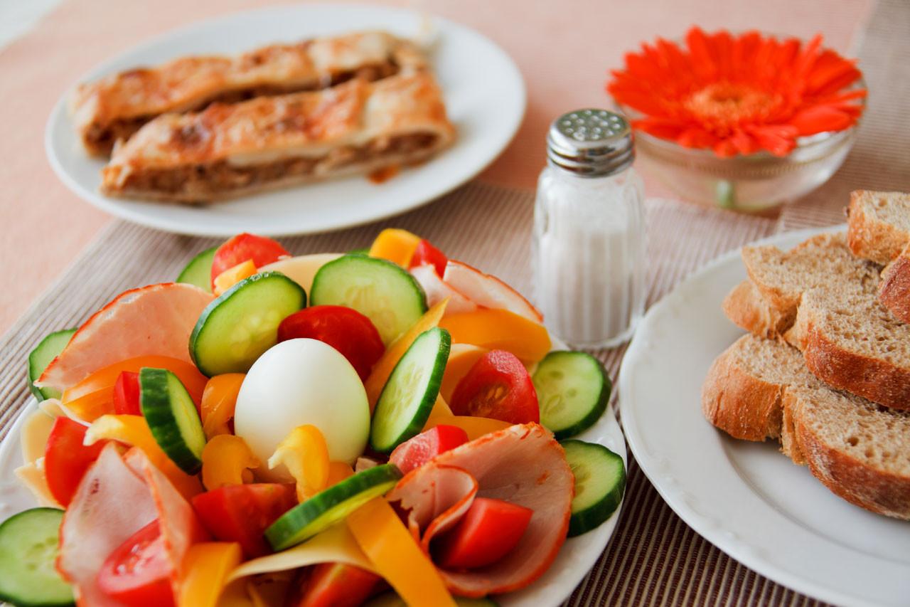 Healthy Breakfast Meats  Desayuno saludable Stock de Foto gratis Public Domain