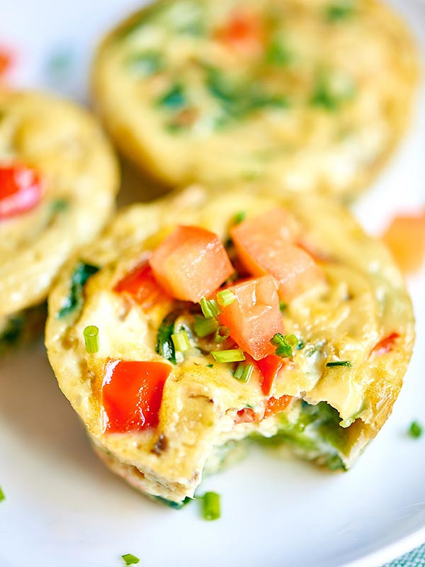 Healthy Breakfast Muffin Cups  Healthy Egg Muffin Cups ly 50 Calories