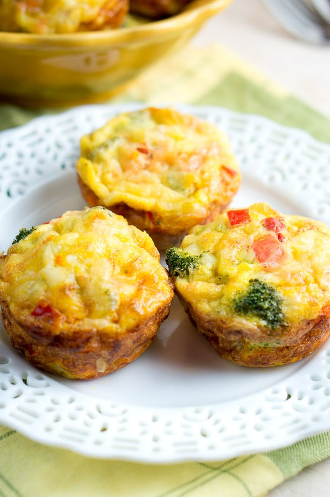Healthy Breakfast Muffin Recipe  Easy Breakfast Egg Muffins