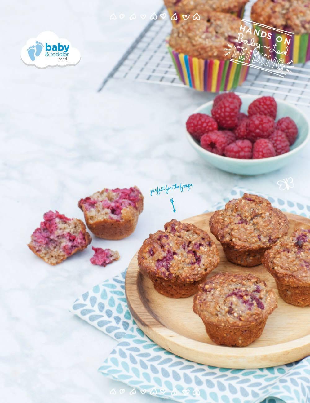 Healthy Breakfast Muffin Recipe  Healthy Breakfast Muffins Baby Led Feeding