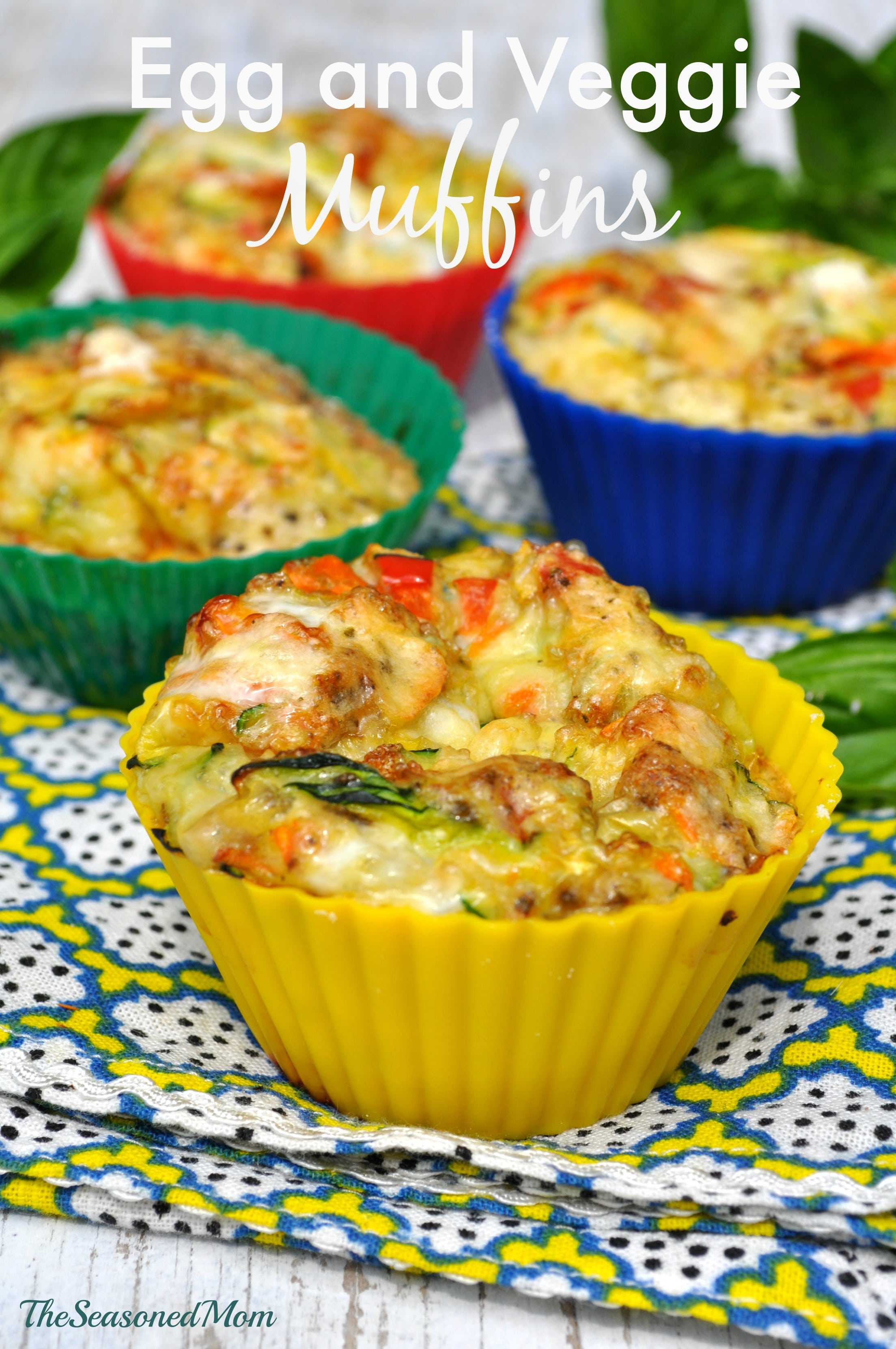 Healthy Breakfast Muffins  Clean Eating Breakfast Egg and Veggie Muffins The