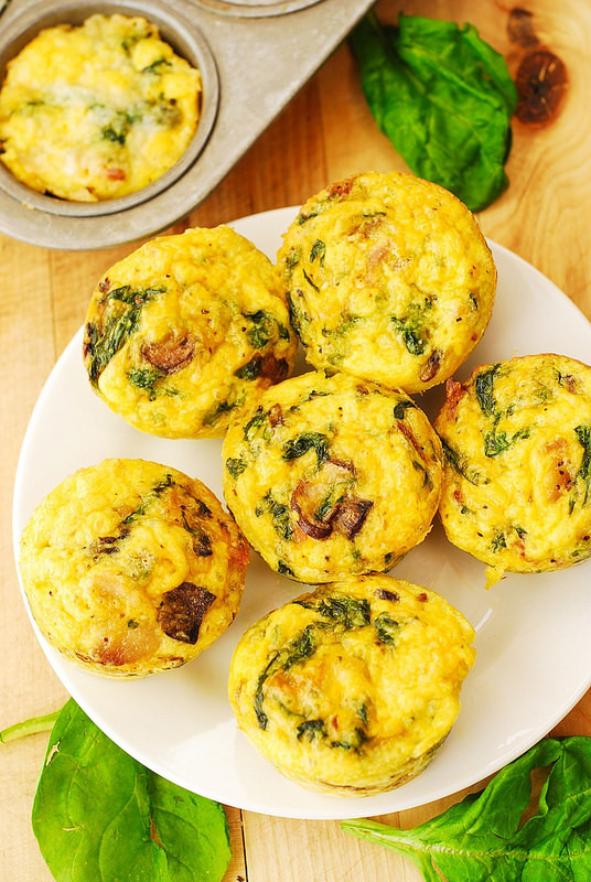 Healthy Breakfast Muffins Egg  healthy breakfast egg muffins with spinach