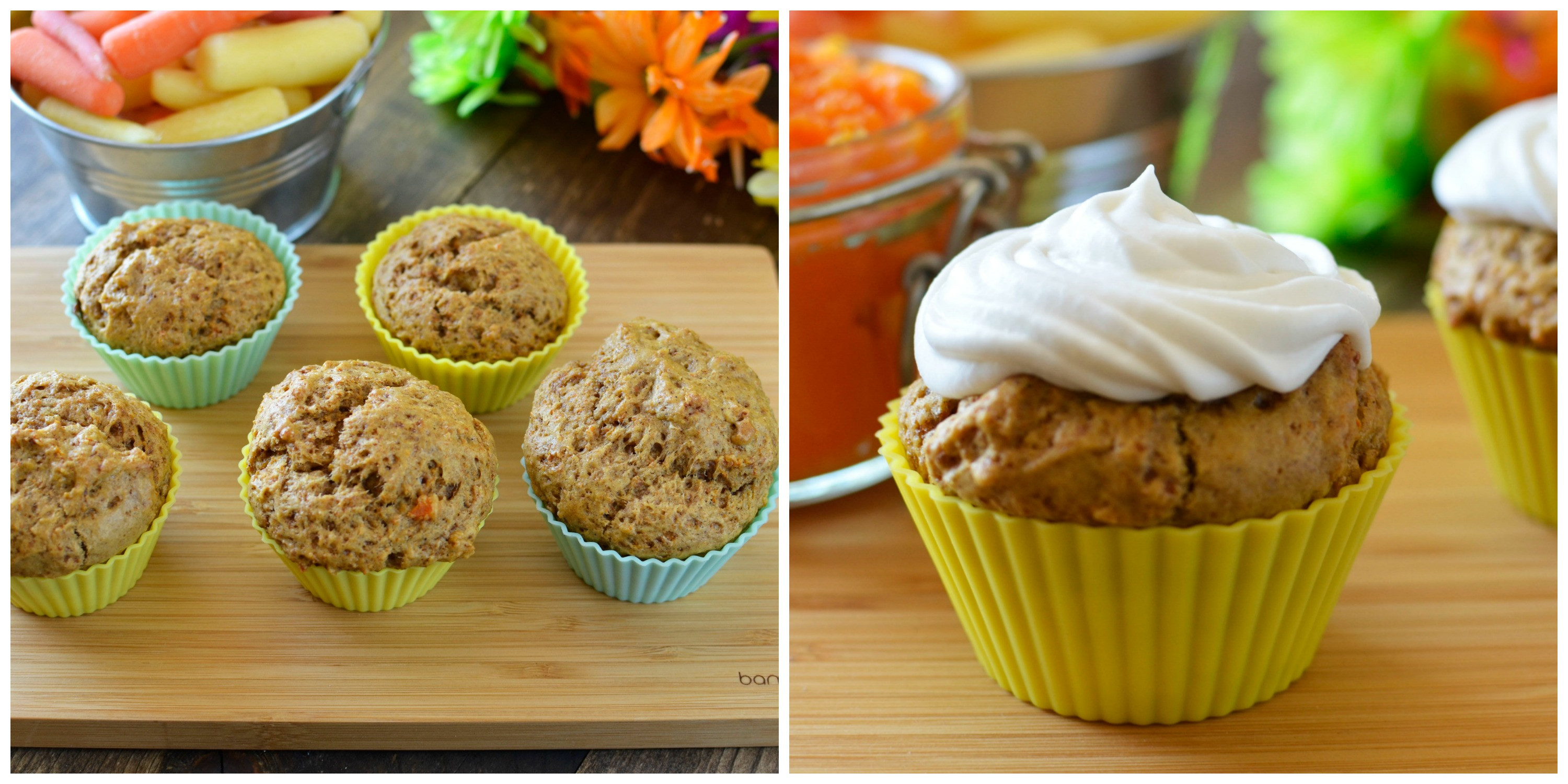 Healthy Breakfast Muffins For Kids  Carrot Muffin Recipe