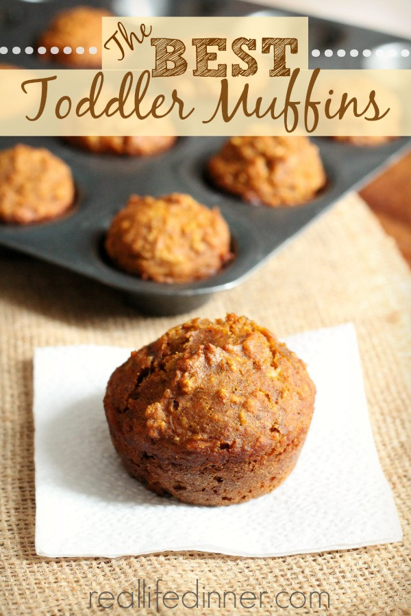 Healthy Breakfast Muffins For Kids  The BEST Toddler Muffins