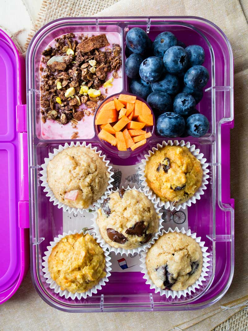 Healthy Breakfast Muffins For Kids  Toddler Muffins Easy Muffin Recipe for Kids