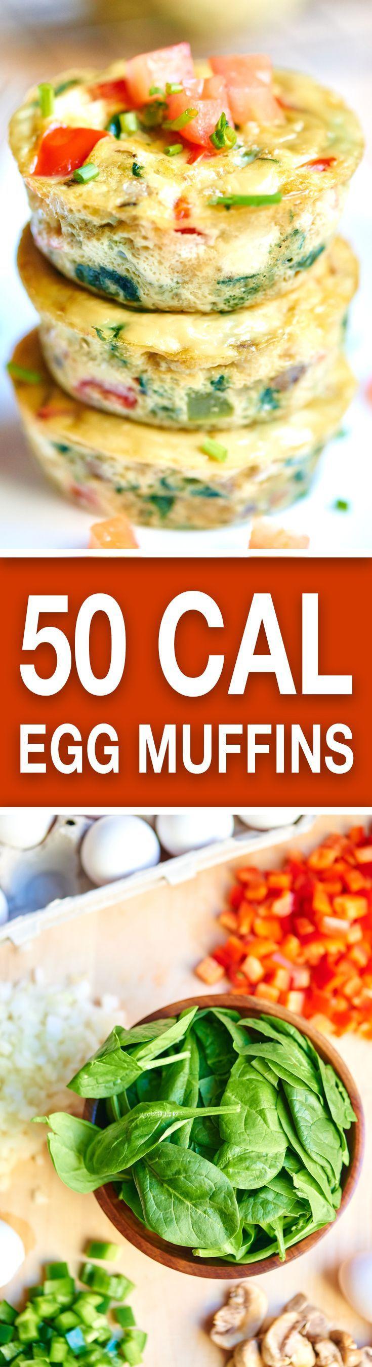 Healthy Breakfast Muffins Low Calorie  1000 ideas about Low Calorie Breakfast on Pinterest
