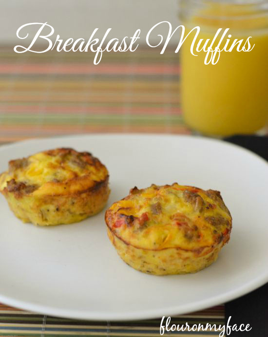 Healthy Breakfast Muffins Low Calorie  Breakfast Muffins Flour My Face
