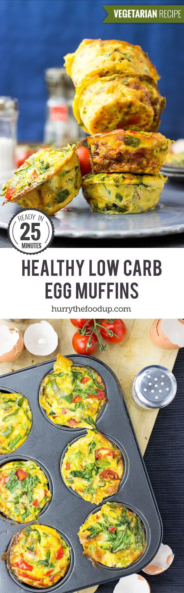 Healthy Breakfast Muffins Low Calorie  Best 20 Healthy Egg Muffins ideas on Pinterest
