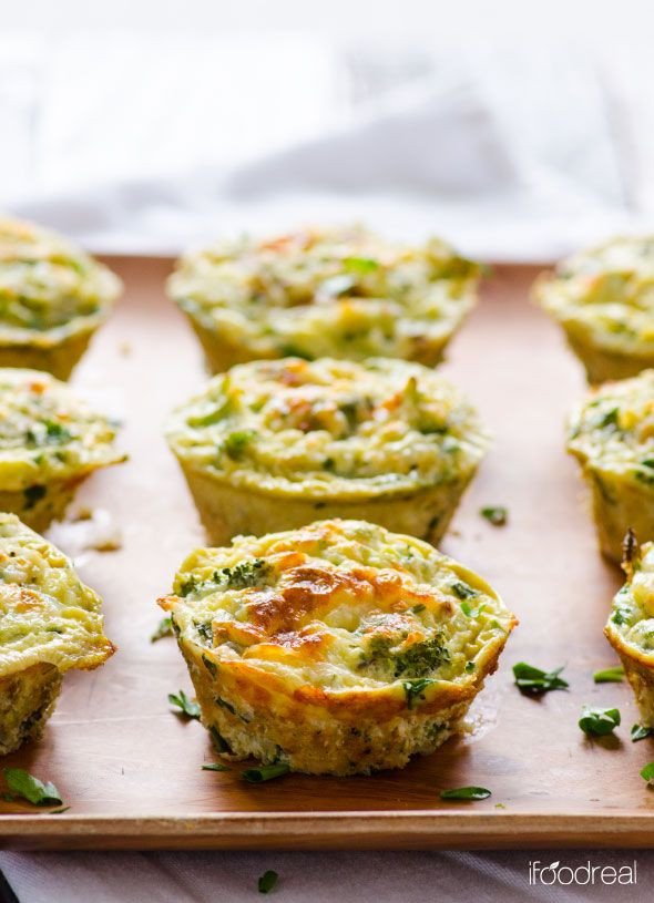 Healthy Breakfast Muffins Protein  Healthy Breakfast Quinoa and Broccoli Egg Muffins