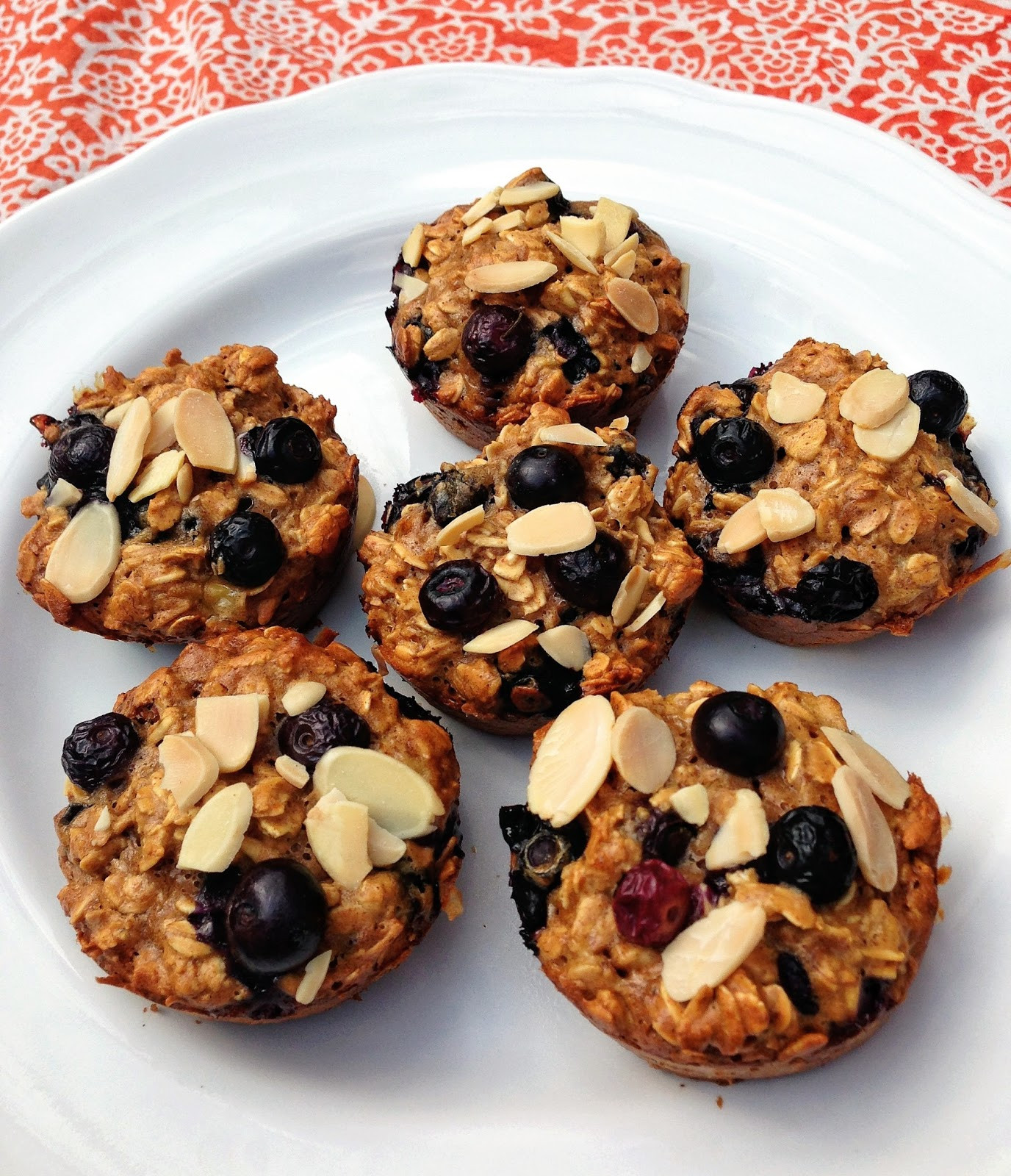 Healthy Breakfast Muffins Protein  taylor made clean & healthy honey almond blueberry oat