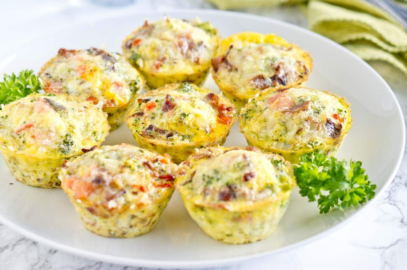 Healthy Breakfast Muffins  Easy Breakfast Egg Muffins
