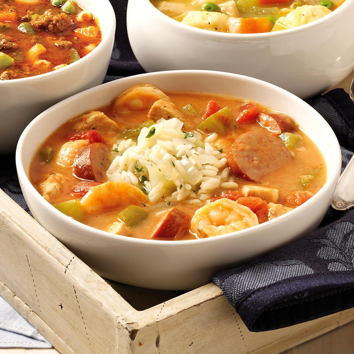 Healthy Breakfast New Orleans  New Orleans Gumbo Recipe