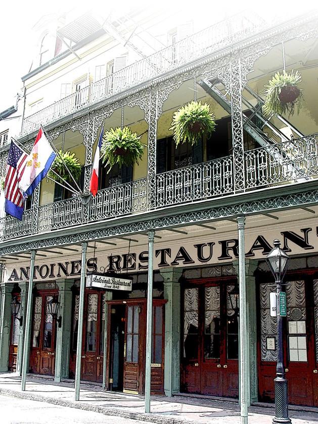 Healthy Breakfast New Orleans  Antoine s Restaurant French Quarter