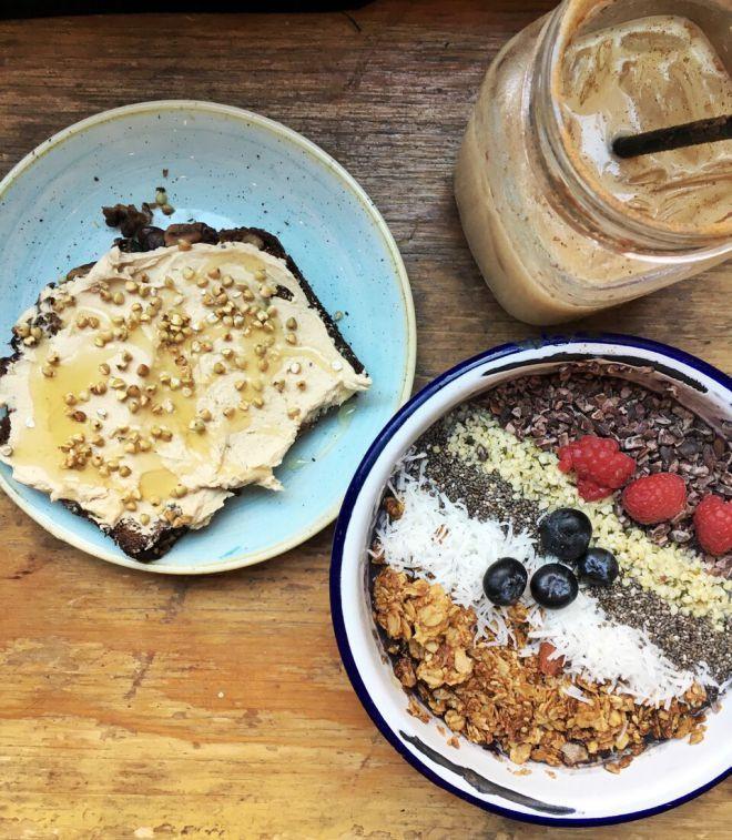 Healthy Breakfast New York  25 schöne New york karten Ideen auf Pinterest