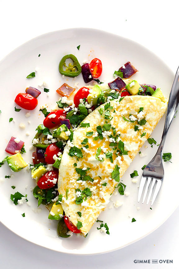 Healthy Breakfast Omelette  5 Healthy Breakfasts to Help You Lose Weight SoFabFood