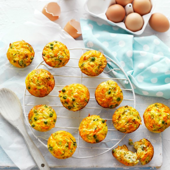 "Healthy Breakfast On The Go Recipes  Easy ""on the go"" Healthy Breakfast Muffins Recipe"