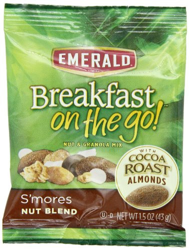 Healthy Breakfast On The Go To Buy  Emerald breakfast The Go Smores Nut Ble By