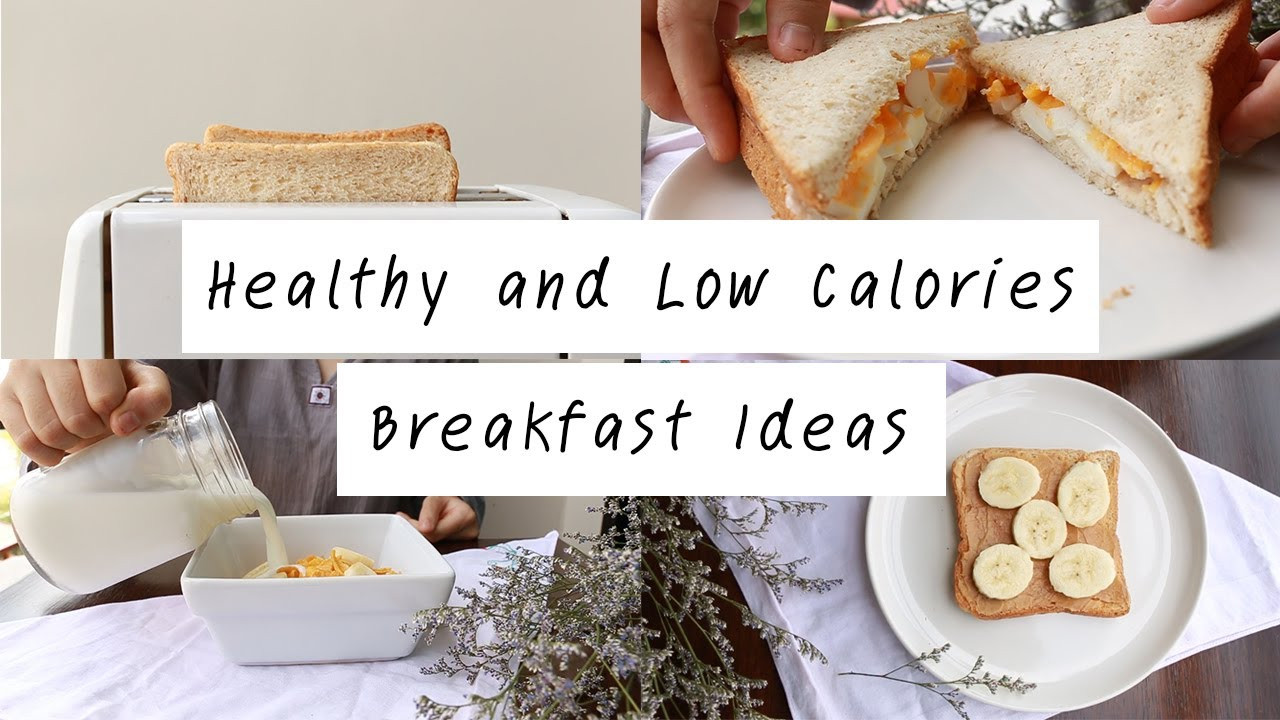 Healthy Breakfast Options At Mcdonald'S  Healthy and Low Calories Breakfast Ideas