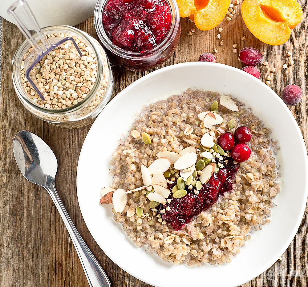 Healthy Breakfast Options At Mcdonald'S  Healthy Breakfast Ideas Cranberry Buckwheat Porridge