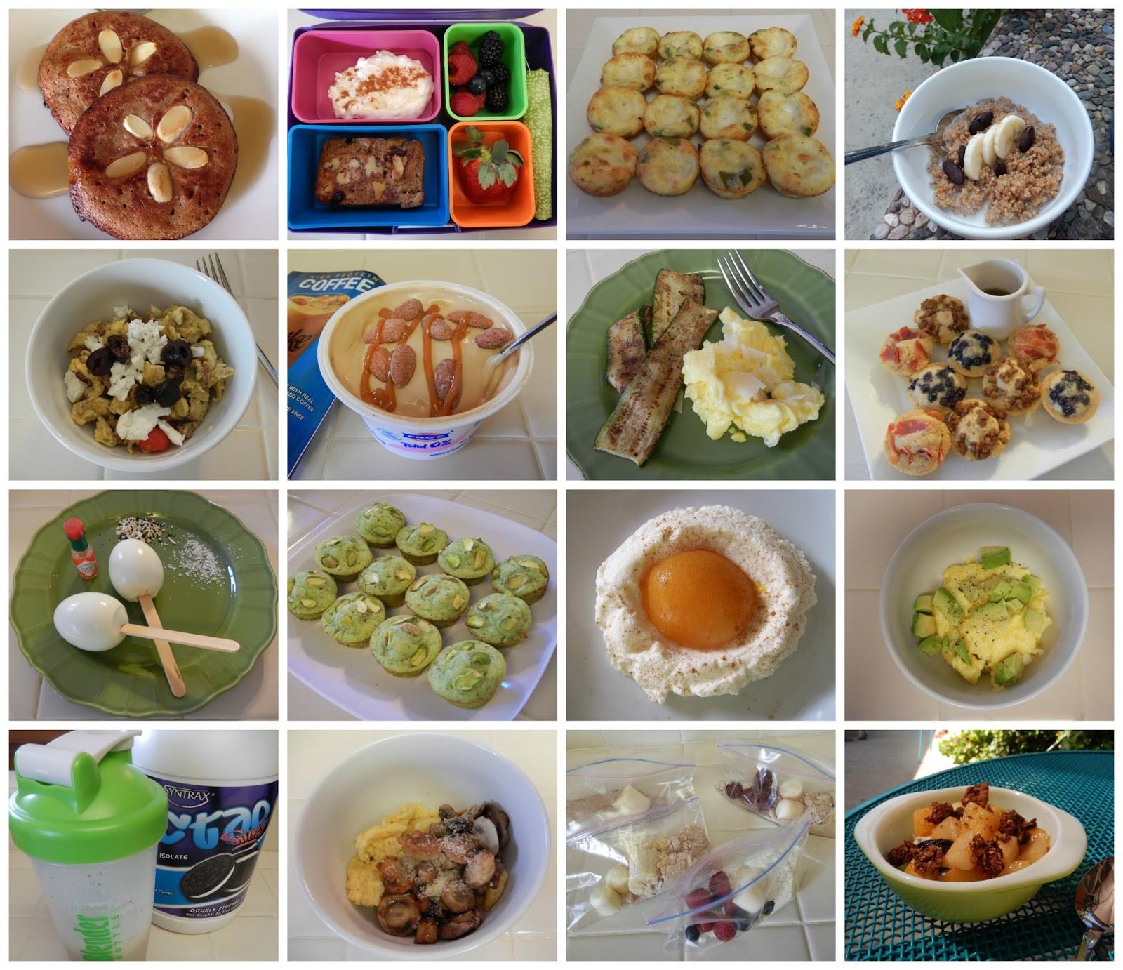 Healthy Breakfast Options For Weight Loss  theworldaccordingtoeggface Oodles of Healthy Breakfast Ideas