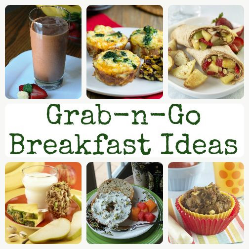 Healthy Breakfast Options On The Go  Grab n Go Breakfasts for Busy Mornings